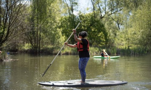 Air Manage Suffolk Kingfishers Paddleboarding