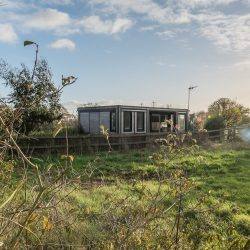 Meadow View Luxury Pod Exterior Air Manage Suffolk-min